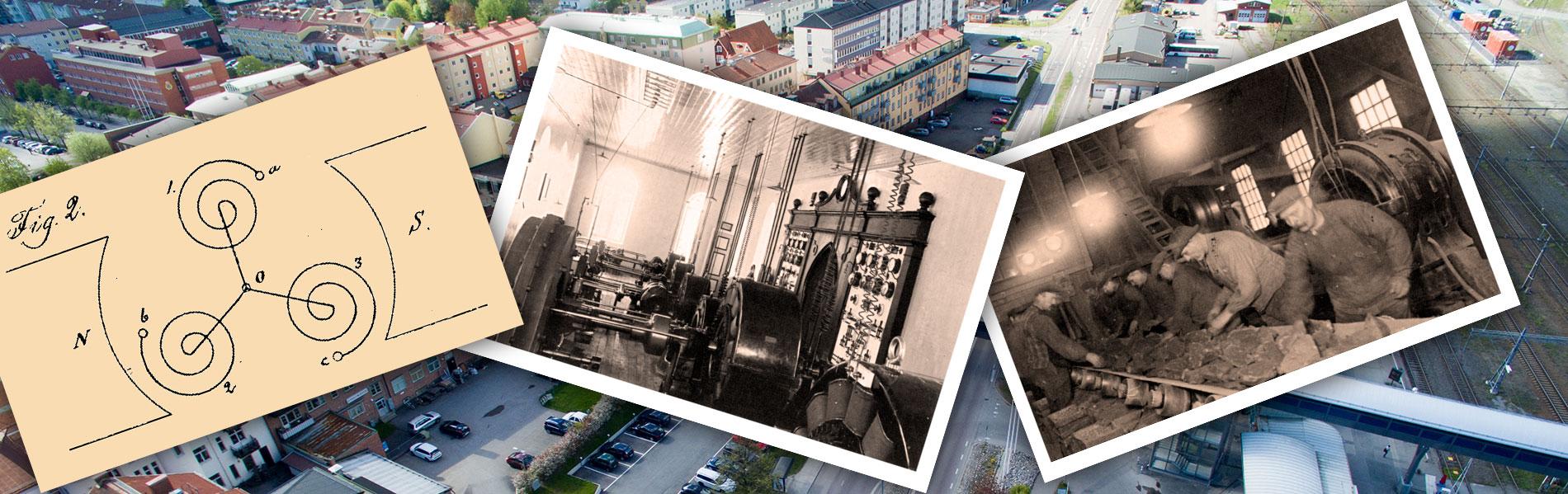 El och Ludvika - historiska kopplingar